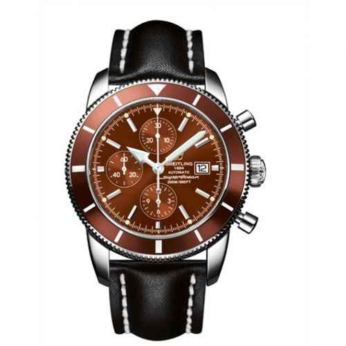 Breitling A1332033.Q553.441X : Superocean Heritage 46 Chronograph Stainless Steel / Bronze / Bronze / Calf
