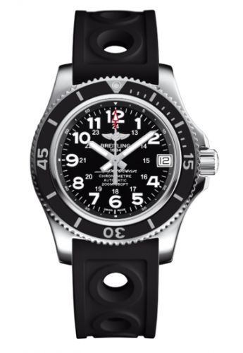 Breitling A17312C9.BD91.231S : Superocean II 36 Black / Rubber