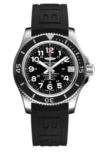 Breitling A17312C9.BD91.237S : Superocean II 36 Black / Rubber