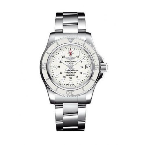Breitling A17312D2/A775/179A : Superocean II 36 White / Bracelet