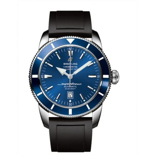 Breitling A1732016.C734.135S : Superocean Heritage 46 Stainless Steel / Blue / Blue / Rubber
