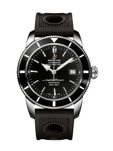 Breitling A1732124.BA61.200S : Superocean Heritage 42 Stainless Steel / Black / Volcano Black / Rubber