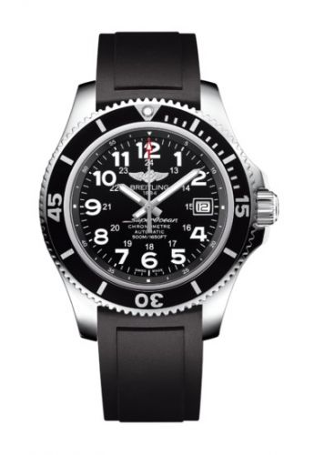 Breitling A17365C9.BD67.132S : Superocean II 42 Stainless Steel / Volcano Black / Rubber