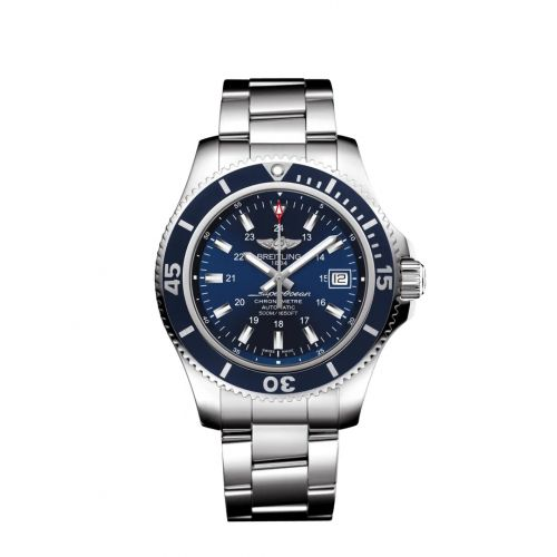 Breitling A17365D1/C957/161A : Superocean II 42 Stainless Steel / Blue / Japan Special Edition