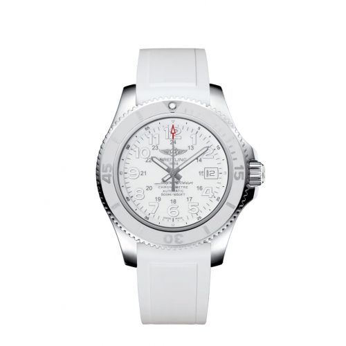 Breitling A17365D2/A766/161A : Superocean II 42 Stainless Steel / White / Japan Special Edition
