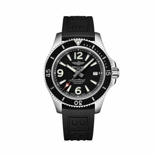 Breitling A17366021B1S2 : Superocean 42 Stainless Steel / Black / Rubber / Folding