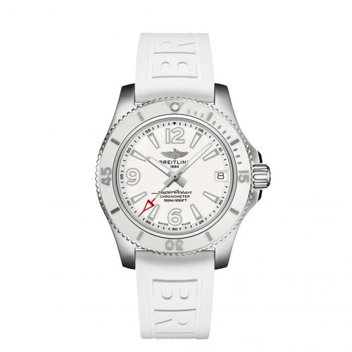 Breitling A17366D21A1S1 : Superocean 42 Stainless Steel / White / Japan