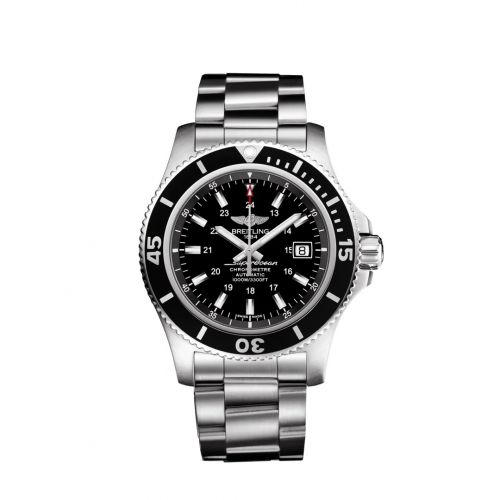 Breitling A17392D7/BG84/161A : Superocean II 44 Stainless Steel / Black / Japan Special Edition