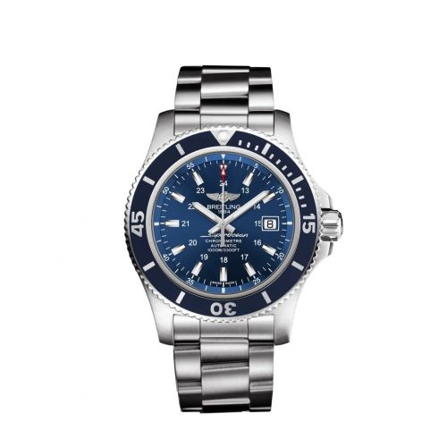 Breitling A17392D8/CA09/161A : Superocean II 44 Stainless Steel / Blue / Japan Special Edition