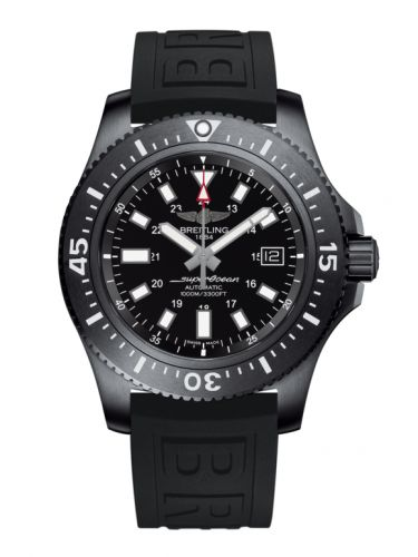 Breitling M1739313.BE92.152S : Superocean 44 Special Blacksteel / Black / Rubber