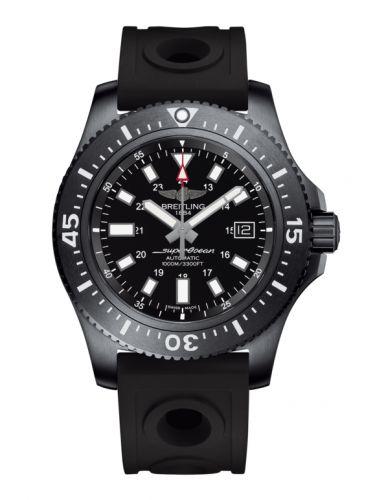 Breitling M1739313.BE92.227S : Superocean 44 Special Blacksteel / Black / Rubber