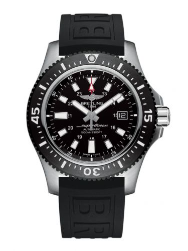 Breitling Y1739310.BF45.152S : Superocean 44 Special Stainless Steel / Volcano Black / Rubber