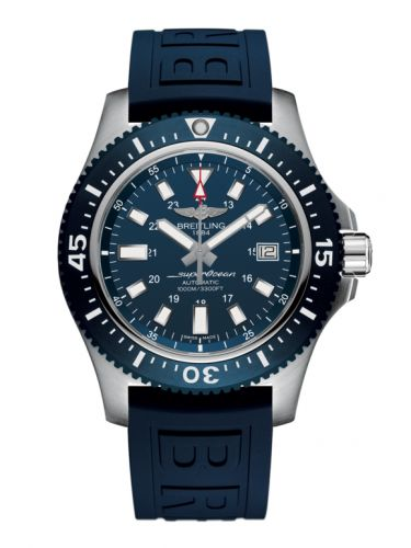 Breitling Y1739316.C959.158S : Superocean 44 Special Stainless Steel / Marine Blue / Rubber