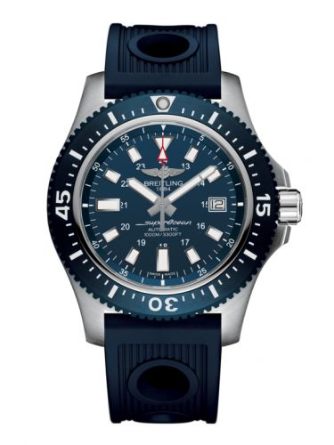 Breitling Y1739316.C959.211 : Superocean 44 Special Stainless Steel / Marine Blue / Rubber