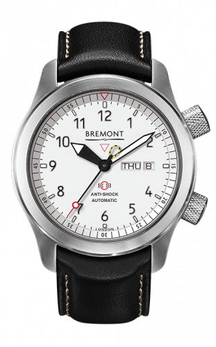 Bremont MBIIAn-WH : MB II Anthracite White Dial
