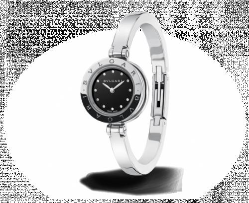 Bulgari 102319 : B.Zero1 Stainless Steel Black Bracelet