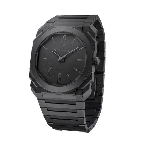 Bulgari 103077 : Octo Finissimo Automatic Ceramic / Black / Bracelet