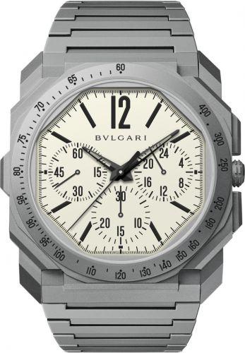 Bulgari 103506 : Octo Finissimo Chronograph GMT Automatic Revolution / The Rake