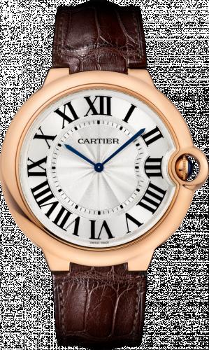 Cartier W6920054 : Ballon Blue de Cartier 46 Extra Flat Pink Gold / Silver