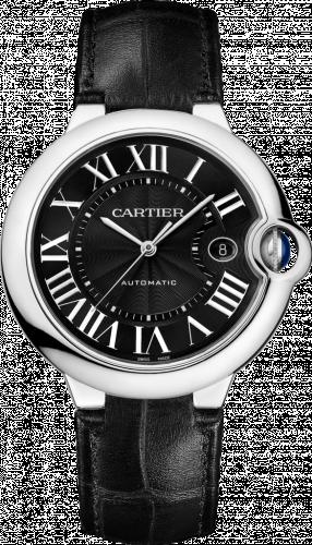 Cartier WSBB0003 : Ballon Blue de Cartier 42 Automatic Stainless Steel / Black