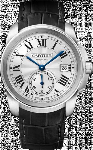 Cartier WSCA0003 : Calibre de Cartier 38 Stainless Steel / Silver