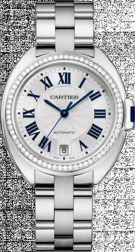 Cartier WJCL0007 : Clé de Cartier 35 White Gold / Diamonds / Bracelet