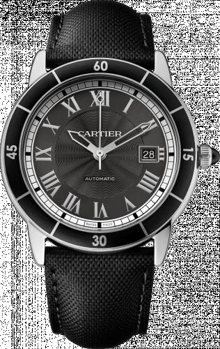 Cartier WSRN0003 : Ronde Croisière de Cartier Stainless Steel / Grey