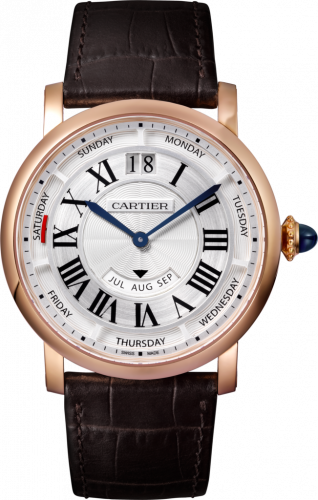 Cartier WHRO0002 : Rotonde de Cartier 40 Annual Calendar Pink Gold / Silver