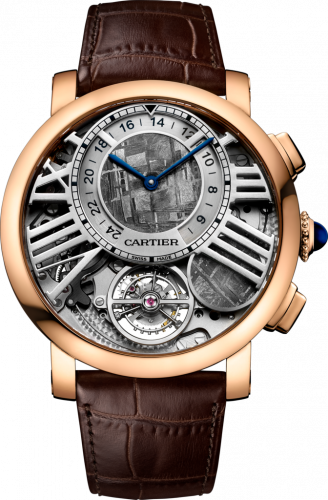 Cartier WHRO0013 : Rotonde de Cartier Earth and Moon Pink Gold