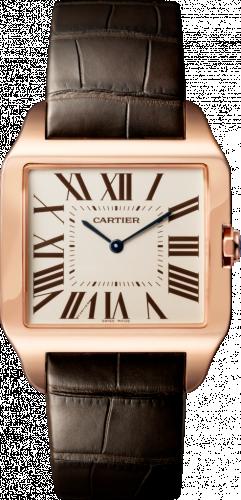 Cartier W2006951 : Santos Dumont 34.6 Pink Gold