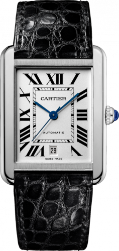Cartier W5200027 : Tank Solo Automatic Stainless Steel / Silver