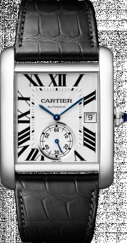 Cartier W5330003 : Tank MC 34.3 Stainless Steel / Silver