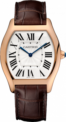 Cartier WGTO0002 : Tortue Extra Thin Pink Gold / Silver