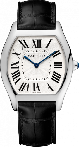 Cartier WGTO0003 : Tortue Extra Flat White Gold / Silver