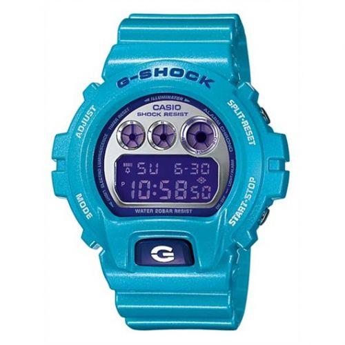 Casio DW-6900CB-2 : DW-6900CB-2 Baby Blue Mirror