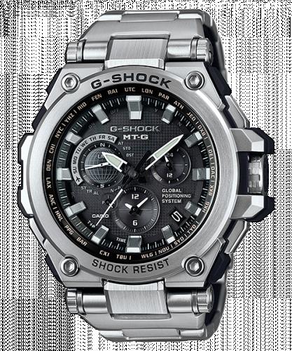 Casio MTG-G1000D-1A : G-Shock MT-G G1000 Steel / Black