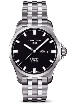 Certina C0144071105100 : DS First Day-Date