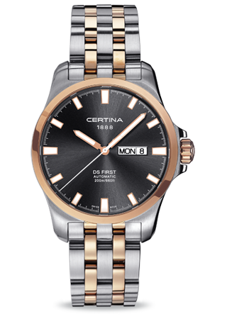 Certina C0144072208100 : DS First Day-Date