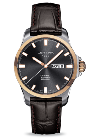 Certina C0144072608100 : DS First Day-Date
