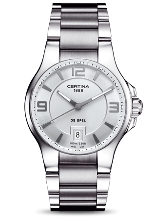 Certina C0124101103700 : DS Spel Silver