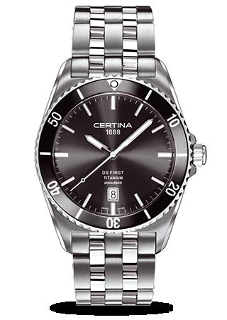Certina C0144104408100 : DS First Ceramic Titanium