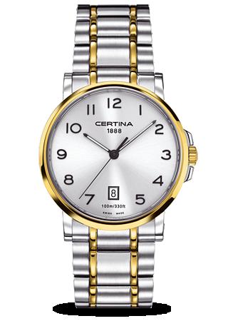 Certina C0174102203200 : DS Caimano Two Tone Arabic