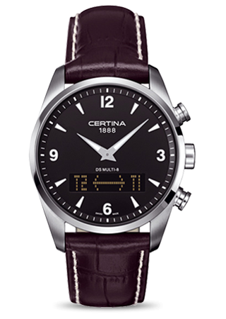 Certina C0204191605700 : DS Multi-8 Black Strap