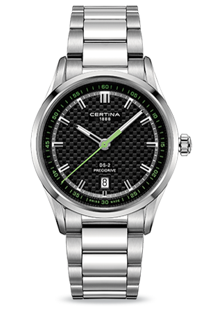 C0244101105102 : Certina DS-2 Green Bracelet
