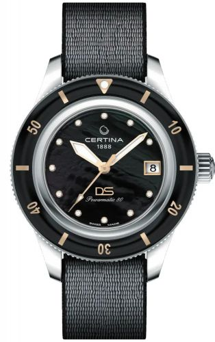 Certina C036.207.18.126.00 : DS PH200M 39 Stainless Steel / Black MOP