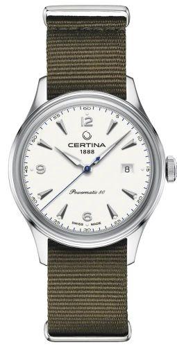 Certina C038.407.18.037.00 : DS Powermatic 80 Stainless Steel / White