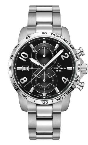Certina C034.427.11.057.00 : DS Podium Chronograph Automatic Stainless Steel / Black / Bracelet