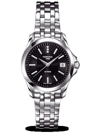 Certina C0042101105600 : DS Prime Lady Black Bracelet