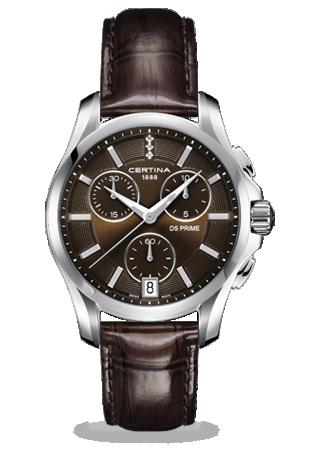 C0042171629600 : Certina DS Prime Chronograph Brown