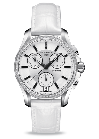 Certina C0042176603600 : DS Prime Chronograph Diamond